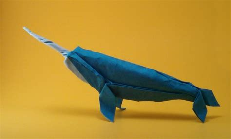 origami narwhal origami animal sculpture by szinger book review