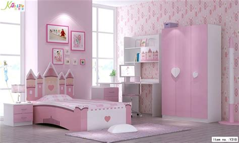 china pink castle bedroom furniture sets y318 china