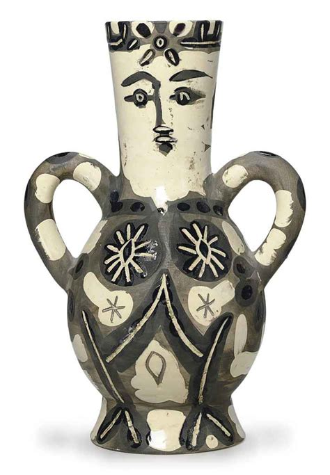 picasso paintings vase pablo picasso vase with two high handles a r 141