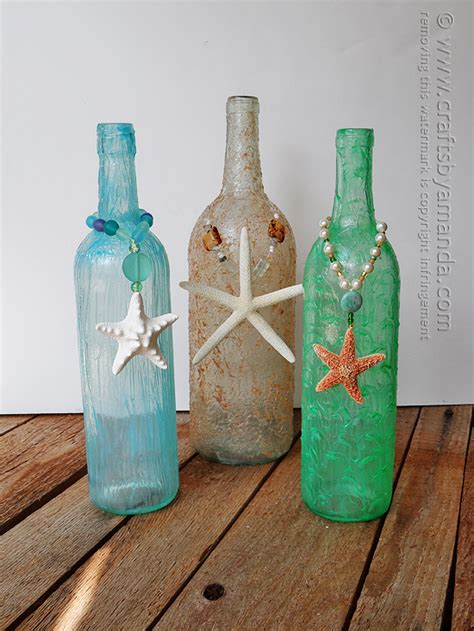craft projects with wine bottles wine bottle crafts textured wine bottles