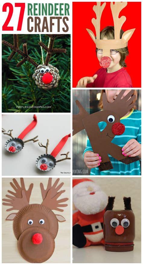 reindeer crafts for 27 adorable reindeer crafts to make