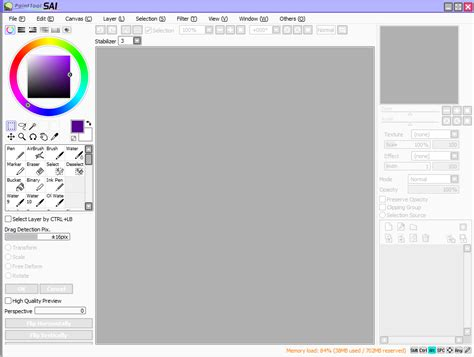 paint tool sai how to resize image sai gui window