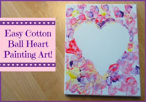 crafts for with paint cotton painting crafts for whispers
