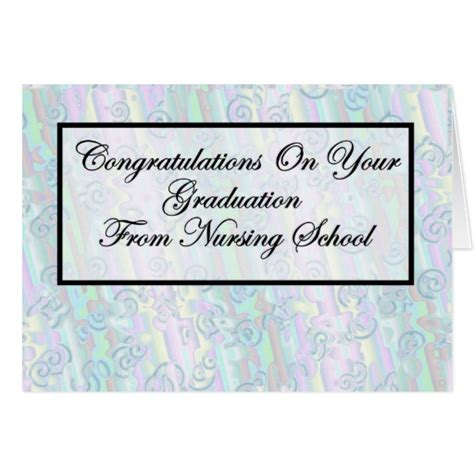 how to make a card for nursing school graduation gifts t shirts posters other