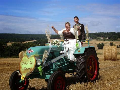 ma collection de tracteurs souvenir de mariage