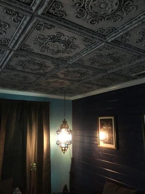 faux ceiling tiles faux tin ceiling tile 24 x 24 dct 08 dct gallery