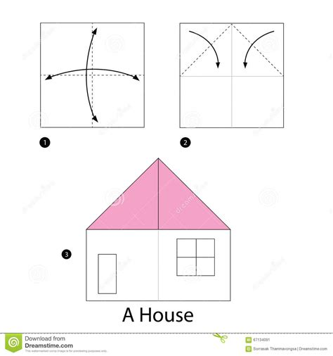 how to make origami house 3d step by step how to make origami a house