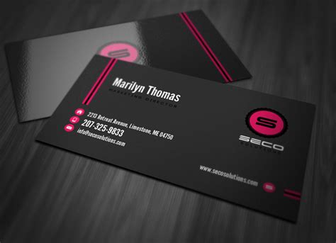 professional card professional business card template vandelay design