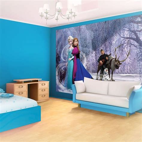 wall photo mural elsa frozen by disney photo wall bedroom wall murals by