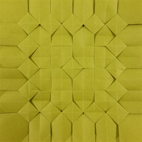origami tessellations square pixel tessellation by michał kosmulski crease