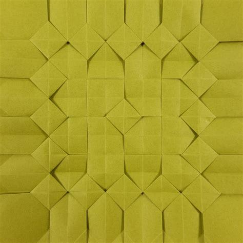 origami tesselations square pixel tessellation by michał kosmulski crease