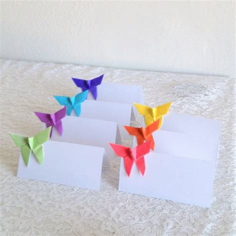 origami place cards 174 best segnaposti images on marriage cards