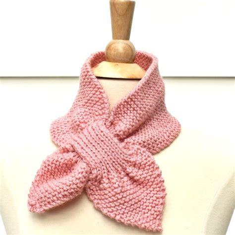 pink knit scarf light pink knit scarf knit keyhole scarf pink knit