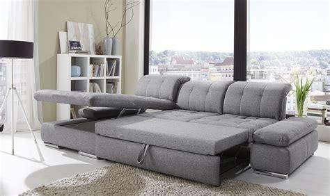 sleeper sectional sofas alpine sectional sleeper sofa left arm chaise facing