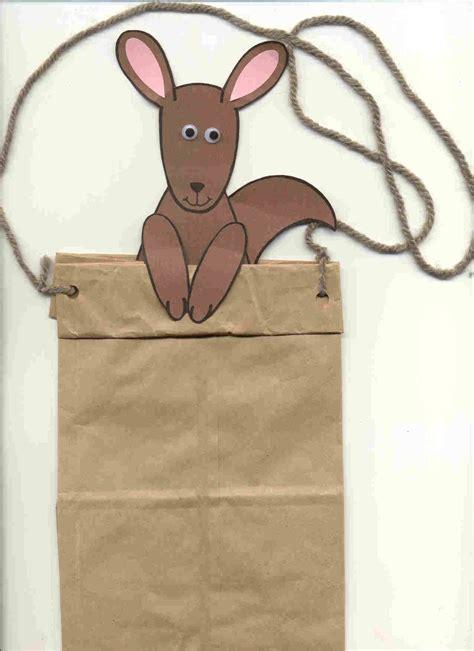 kangaroo craft for mencke youth services librarian kangaroo