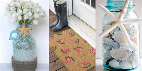 diy summer crafts for 40 home decor diy projects for summer diy