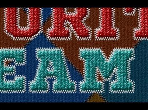 stitching onto fabric photoshop tutorial how to stitch text onto fabric