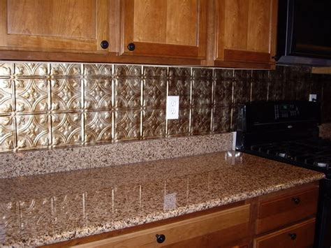 tin backsplash for kitchen kitchen how to apply faux tin backsplash for kitchen