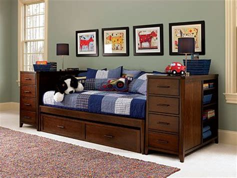 boys furniture bedroom sets boys bed with trundle kendall daybed with trundle