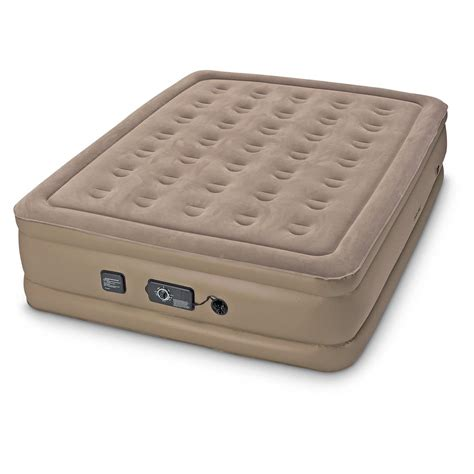 raised air bed insta bed raised air mattress with neverflat system