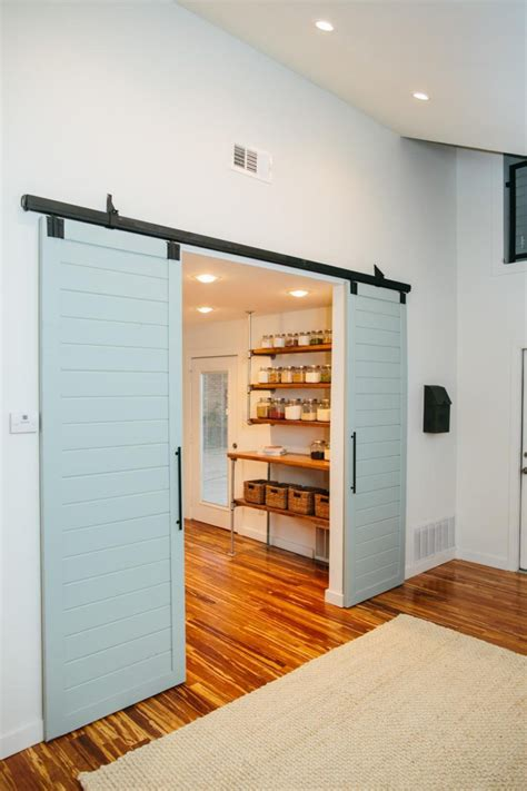 kitchen barn doors bring some country spirit to your home with interior barn
