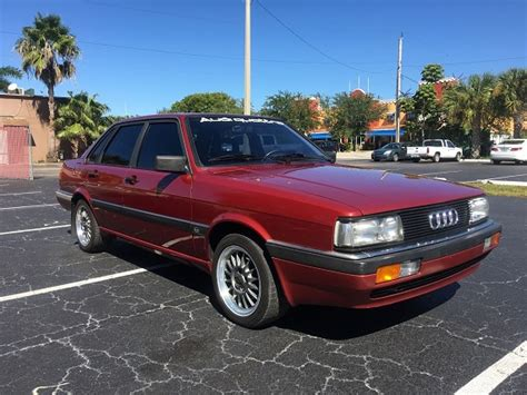 Audi 90 Quattro For Sale by 1985 Audi 90 Quattro German Cars For Sale