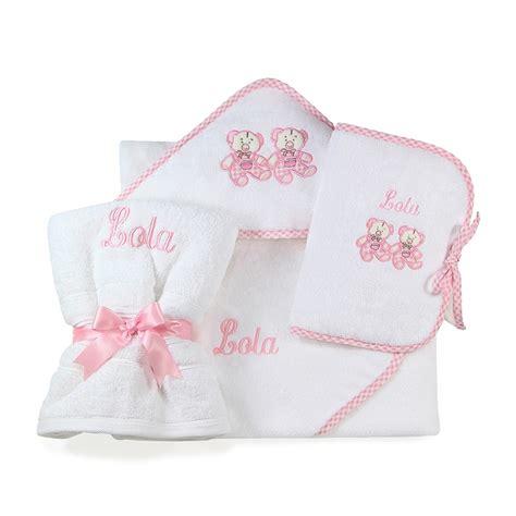 b 233 b 233 fille compositions sortie de bain serviette de toilette prot 232 ge carnet de sant 233 nid d