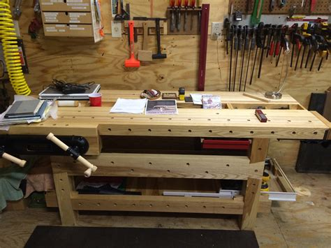 popular woodworking workbench another 21st century workbench popular woodworking magazine