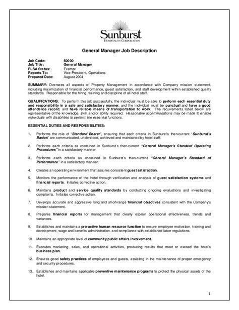 resume for office manager job 1 - Office Manager Responsibilities Resume