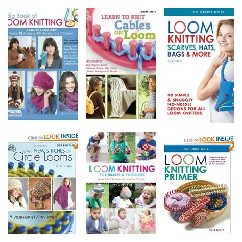 books for knitting loom knitting books collage loomahat