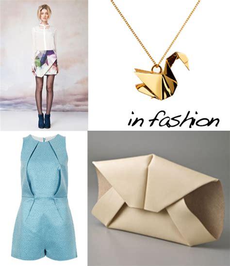 origami in fashion origami design and paper