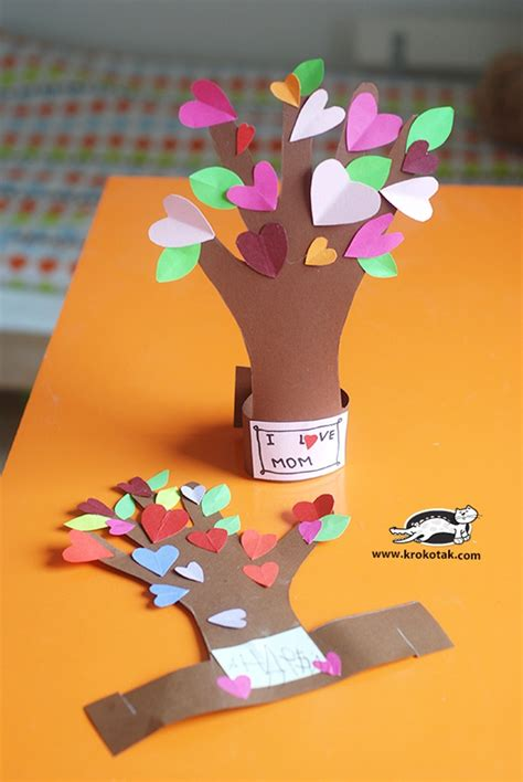 mothers day craft 13 creative and sweet kindergarten s day crafts