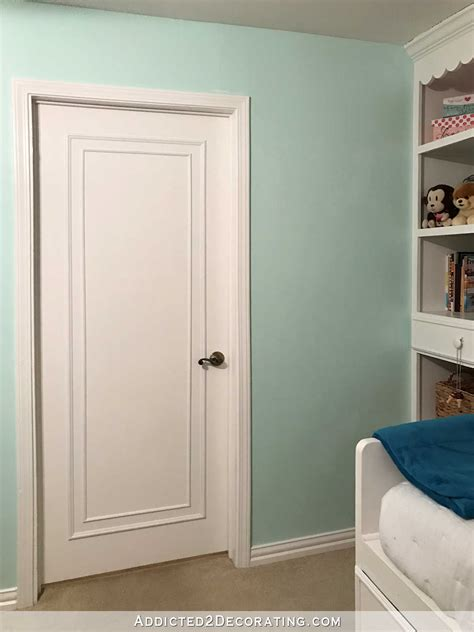 cost to paint interior doors an easy inexpensive way to update flush flat panel