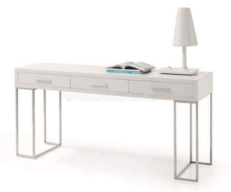 modern desks with drawers modern white desk with drawers