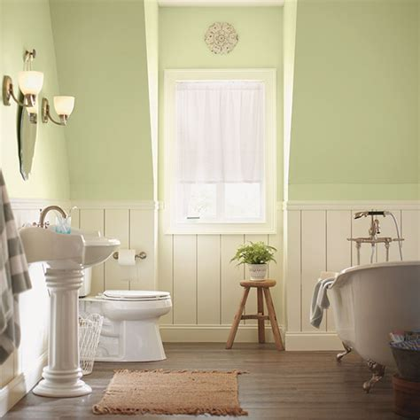 Neutral Bathroom Color Schemes by Decorating With A Pastel Or Neutral Color Scheme