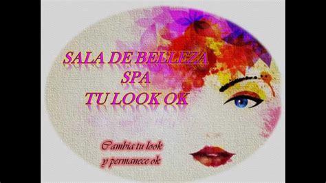 nombres para salones de belleza logo y slogan empresrial salon de belleza spa tu look ok