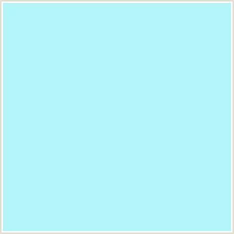 baby blue lights b2f4f7 hex color rgb 178 244 247 baby blue