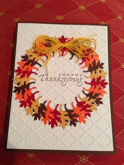 ideas for thanksgiving cards to make 25 unique handmade thanksgiving cards ideas on