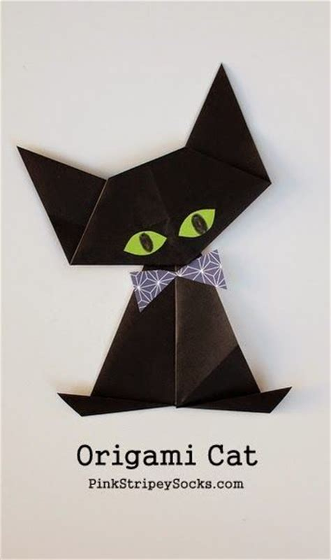 origami cat ears best 20 chat origami ideas on cat origami