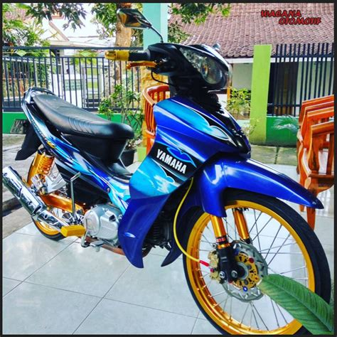 Modifikasi Motor Minimalis by 25 Gambar Modifikasi Jupiter Jupiter Z Minimalis Simple