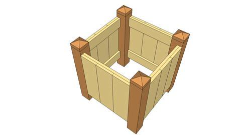 wood planter boxes woodworking plans woodwork wood planter plans pdf plans