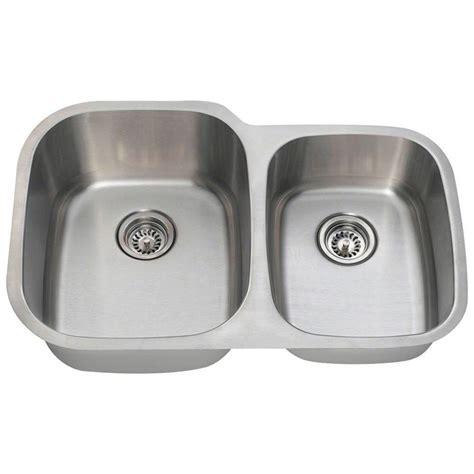 home depot kitchen sinks undermount polaris sinks undermount stainless steel 32 in