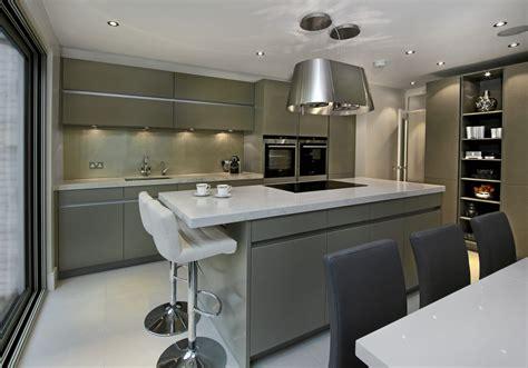 used designer kitchens luxury leicht kitchen designer showroom fulham