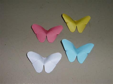 mit origami basteln origami schmetterling falten mit papier