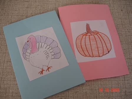 thanksgiving cards to make at home thanksgiving cards craft these with your
