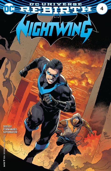 nightwing vol 4 blockbuster rebirth nightwing dc universe rebirth dc comics rebirth spoilers review dc rebirth nightwing