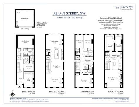 washington floor plan floorplan 3245 n nw