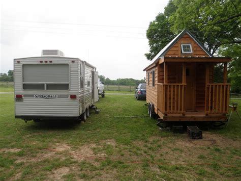 trailer houses tiny house vs cing trailer