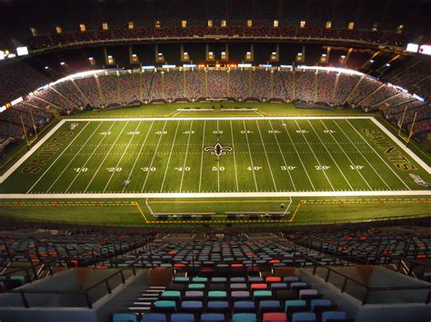Where Is The Mercedes Superdome by Mercedes Superdome All Pro Systems