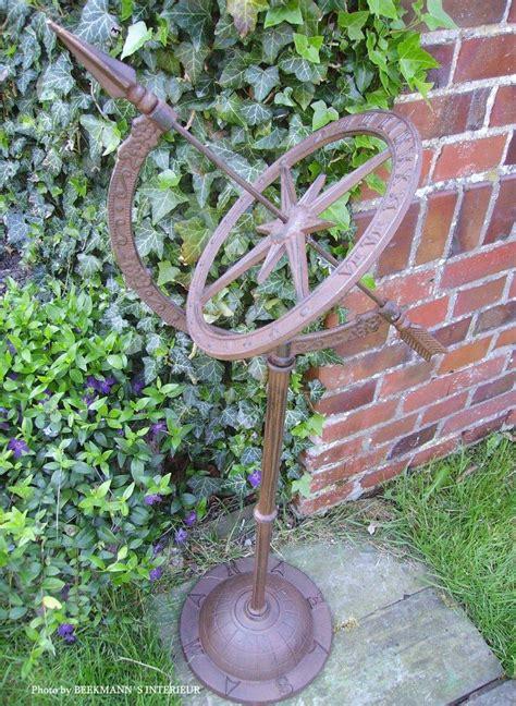 Garden Accessories Uk Only Sundial Large Garden Decor Cast Iron 95cm